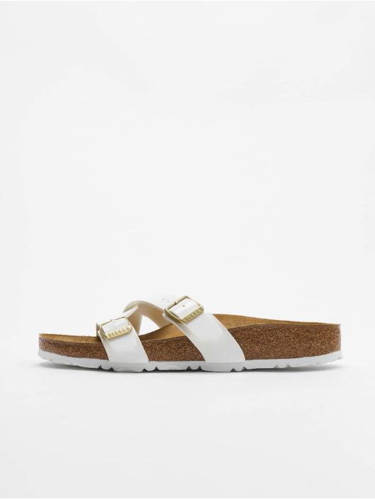 Birkenstock Slipper/Sandaal Yao Balance BFLA wit