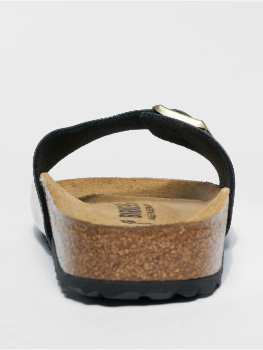 Birkenstock Slipper/Sandaal Madrid BF zwart