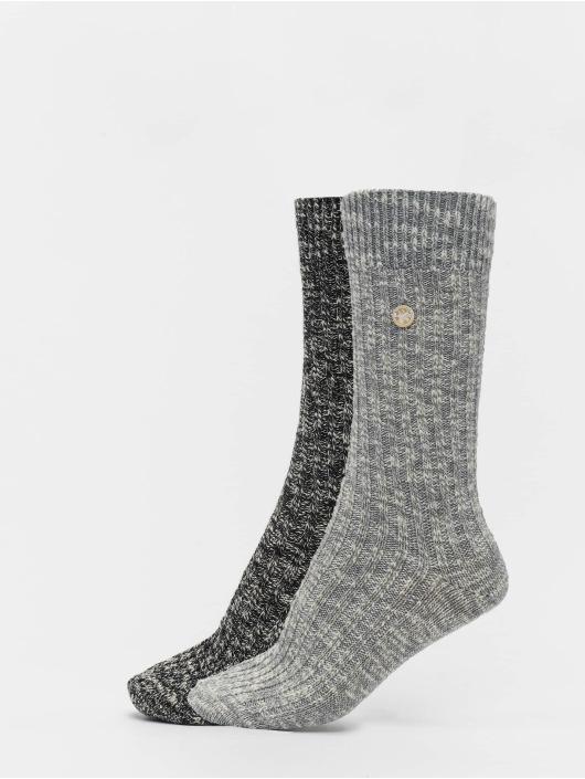 Birkenstock Socken X-Mas Slub M schwarz