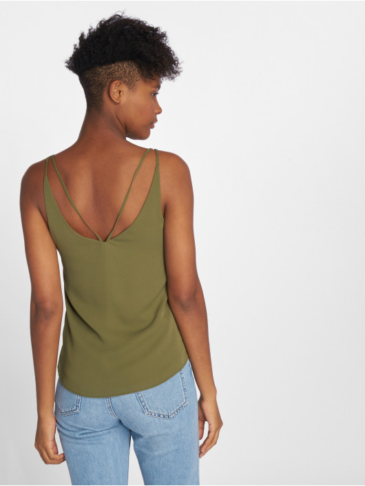 Bisous Project Top Nancy khaki
