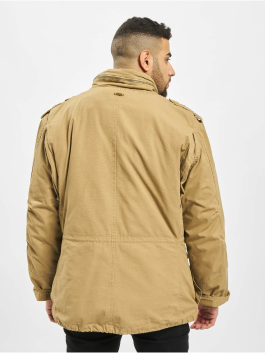 Brandit Зимняя куртка M65 Standard бежевый