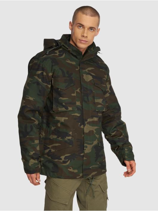 Brandit Зимняя куртка M65 Classic камуфляж
