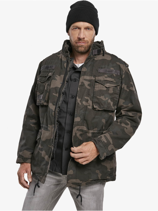 Brandit Зимняя куртка M65 Giant Winter камуфляж
