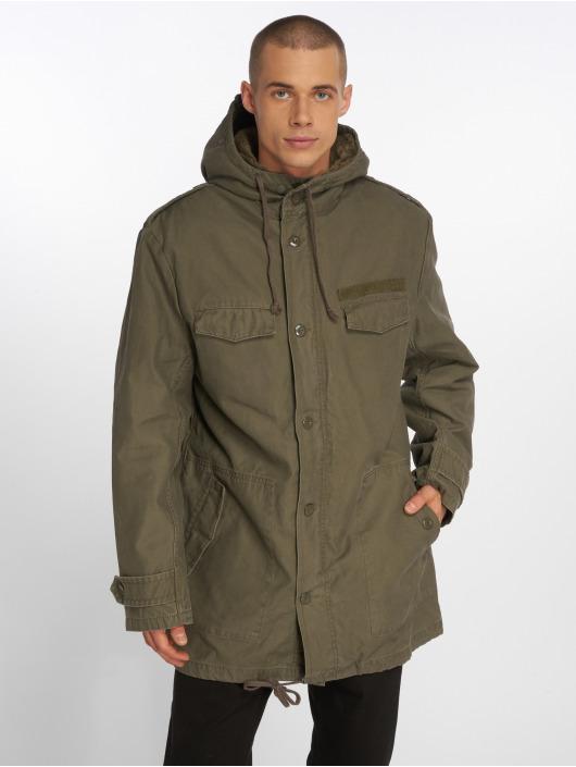 Brandit Зимняя куртка Bw Parka оливковый