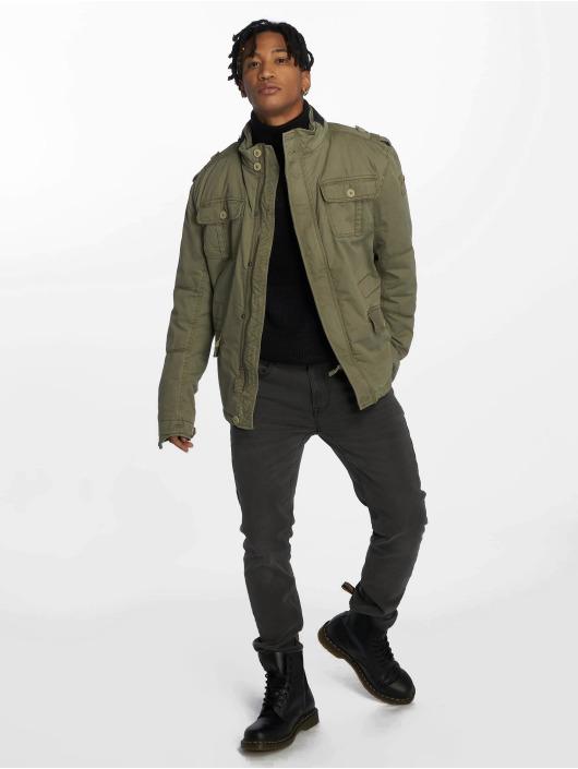 Brandit Зимняя куртка Britannia оливковый