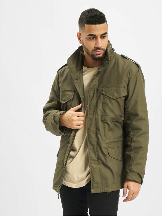 Brandit Зимняя куртка M65 Standard оливковый