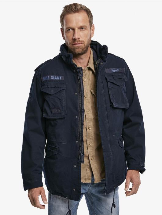 Brandit Зимняя куртка M65 Giant синий