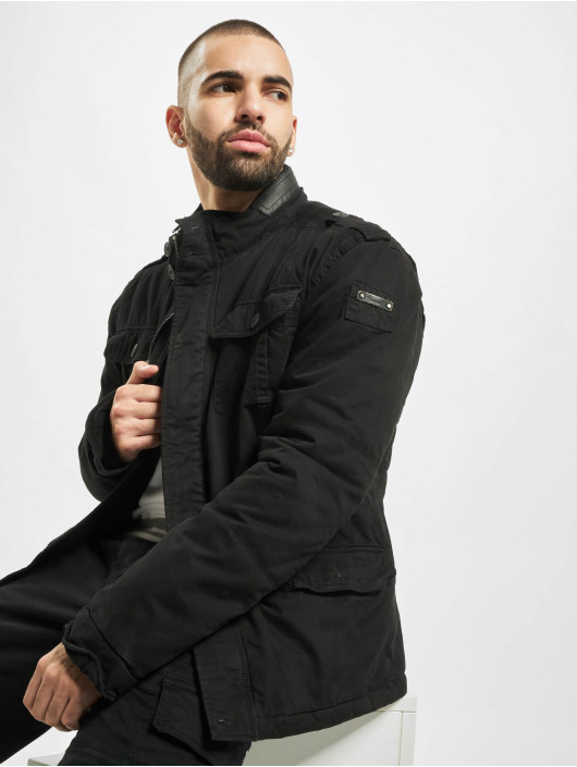 Brandit Зимняя куртка Britannia черный