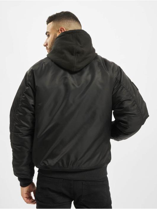 Brandit Куртка-бомбардир MA1 Sweat черный