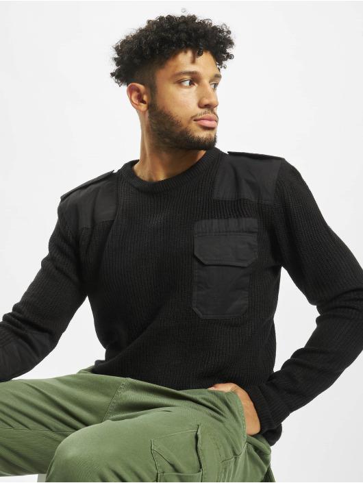 Brandit Пуловер BW Classic черный