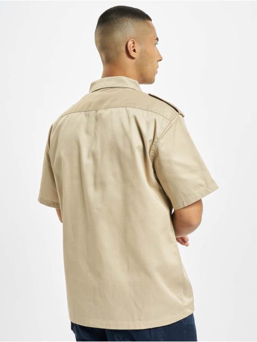 Brandit Рубашка US бежевый