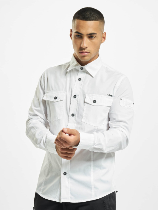 Brandit Рубашка Slim белый