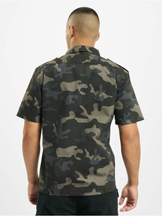 Brandit Рубашка US Ripstop камуфляж