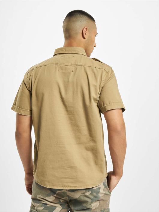 Brandit Рубашка Vintage коричневый