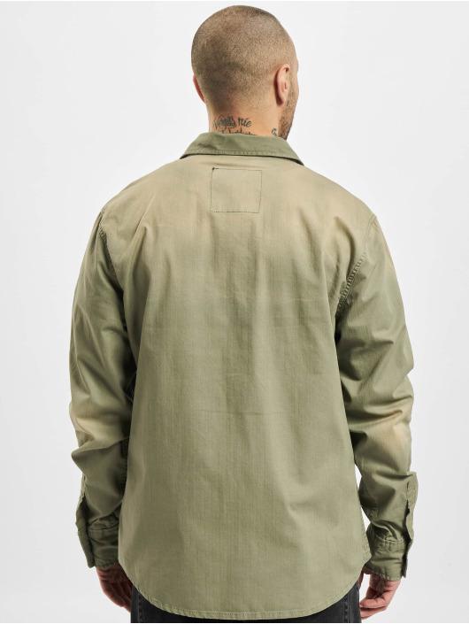 Brandit Рубашка Hardee оливковый