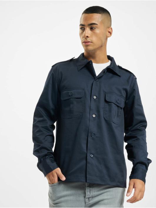 Brandit Рубашка US синий