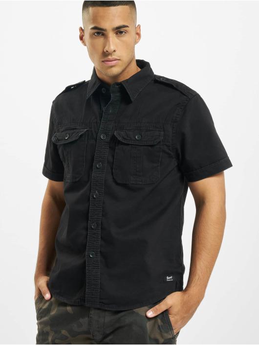 Brandit Рубашка Vintage черный