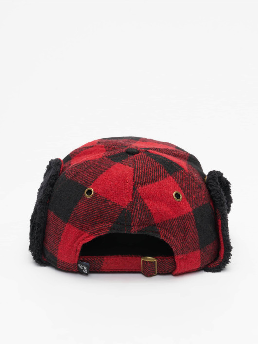 Brandit 5 Panel Caps Winter röd