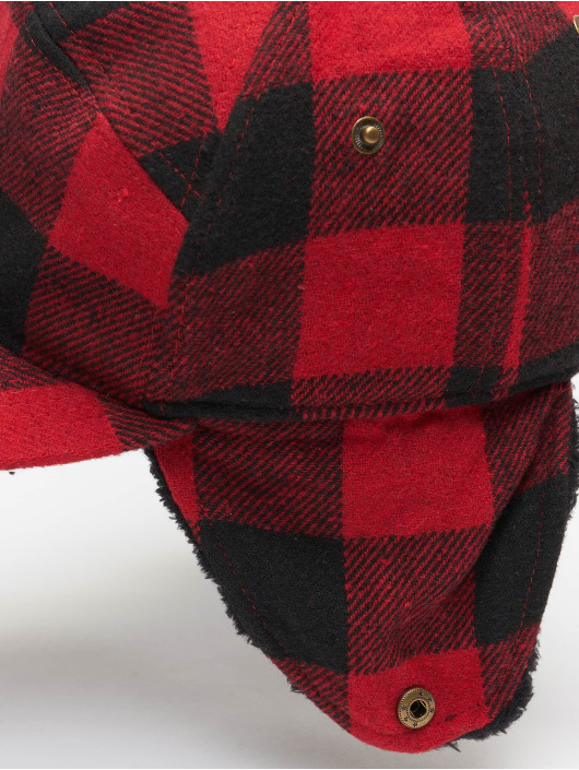 Brandit 5 Panel Caps Winter rosso