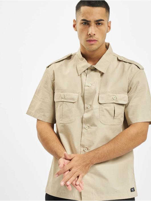 Brandit Camicia US Ripstop beige