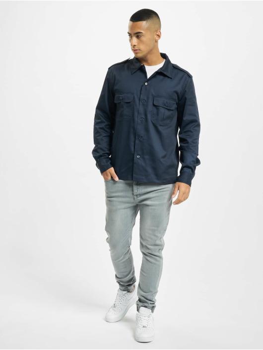 Brandit Camicia US blu