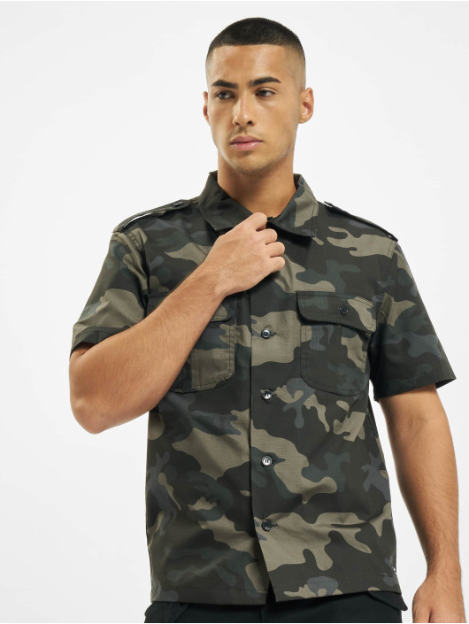 Brandit Camicia US Ripstop mimetico