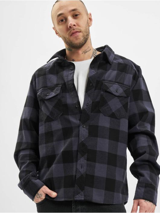 Brandit Camicia Check nero