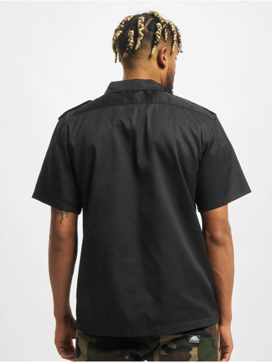 Brandit Camicia Us 1/2 nero