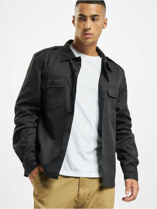 Brandit Camicia US nero