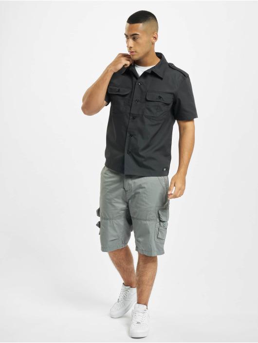 Brandit Camicia US Ripstop nero