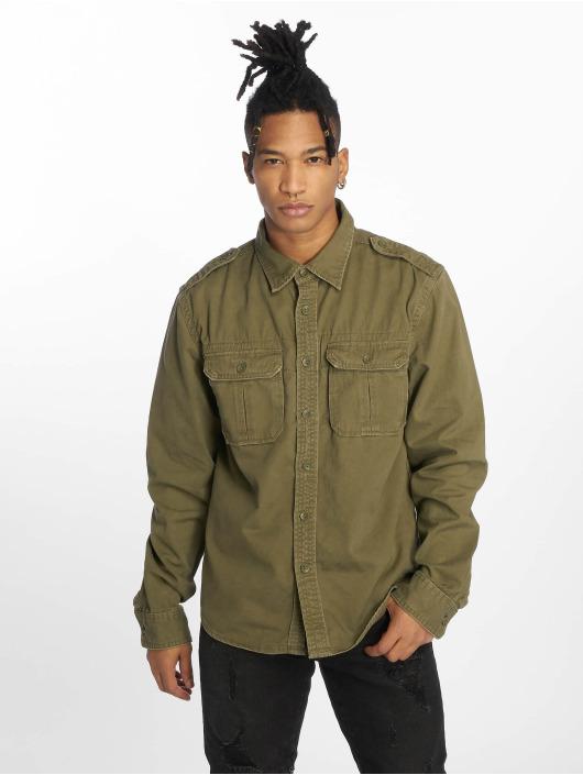Brandit Camicia Vintage oliva