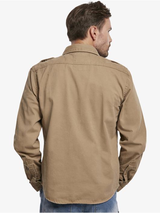 Brandit Camisa Vintage marrón
