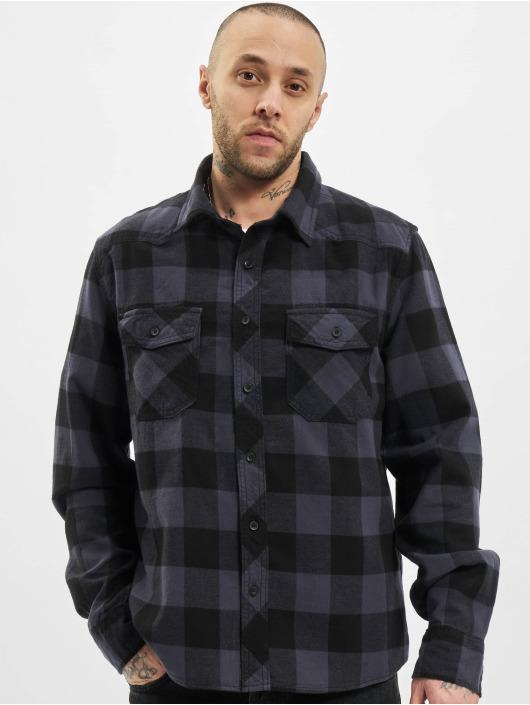 Brandit Camisa Check negro