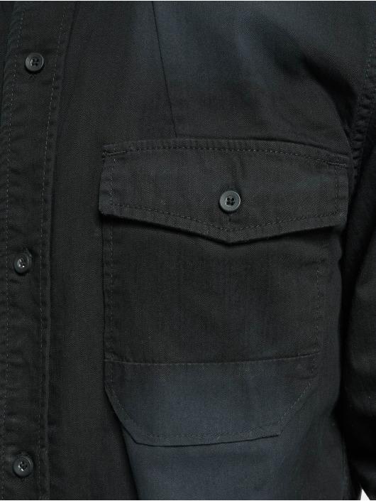 Brandit Camisa Hardee Denim negro