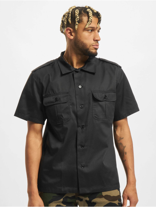 Brandit Camisa Us 1/2 negro