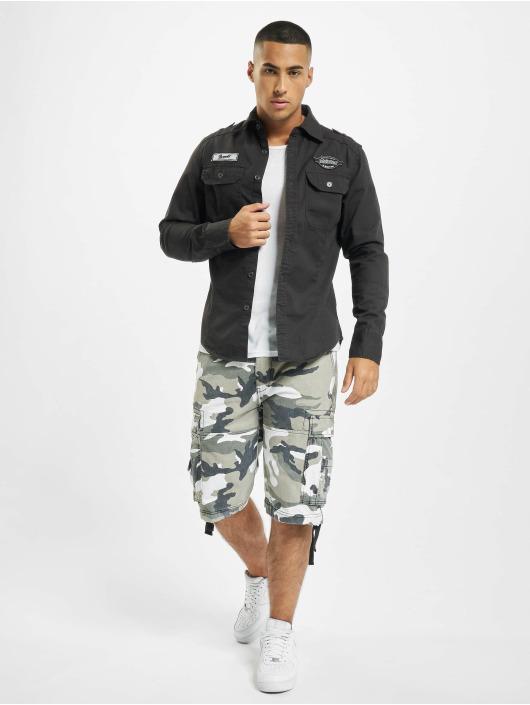 Brandit Camisa Luis Vintage negro
