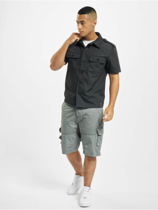 Brandit Camisa US Ripstop negro