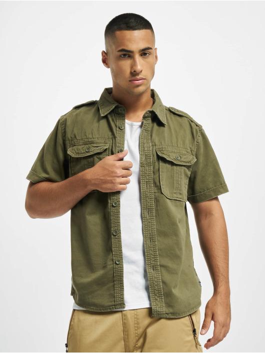 Brandit Camisa Vintage oliva