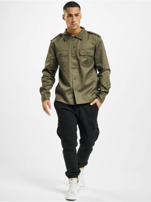 Brandit Camisa US oliva