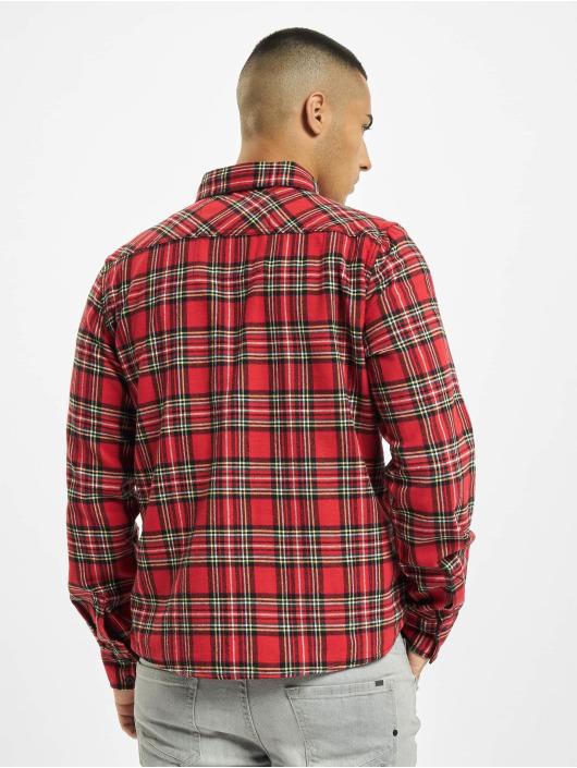 Brandit Camisa Check rojo