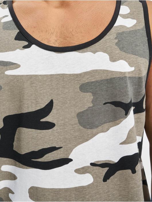 Brandit Camiseta Tank Top gris