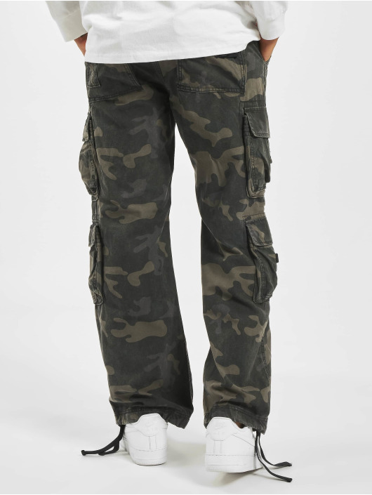 Brandit Cargobroek Pure Vintage camouflage