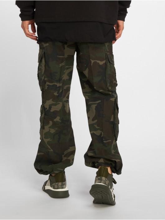 Brandit Pure Vintage Cargo Pants Woodland