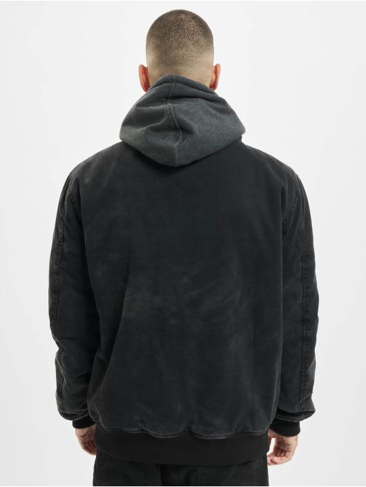 Brandit Denim Jacket Dayton black