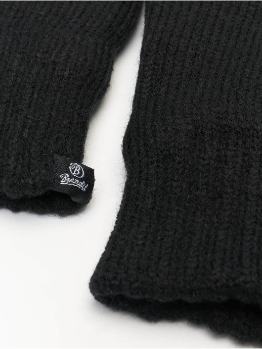 Brandit Guante Knitted negro
