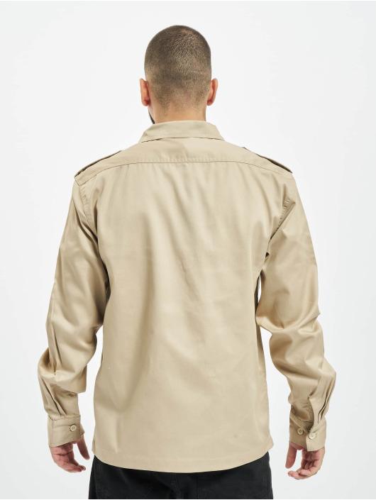 Brandit Hemd US beige