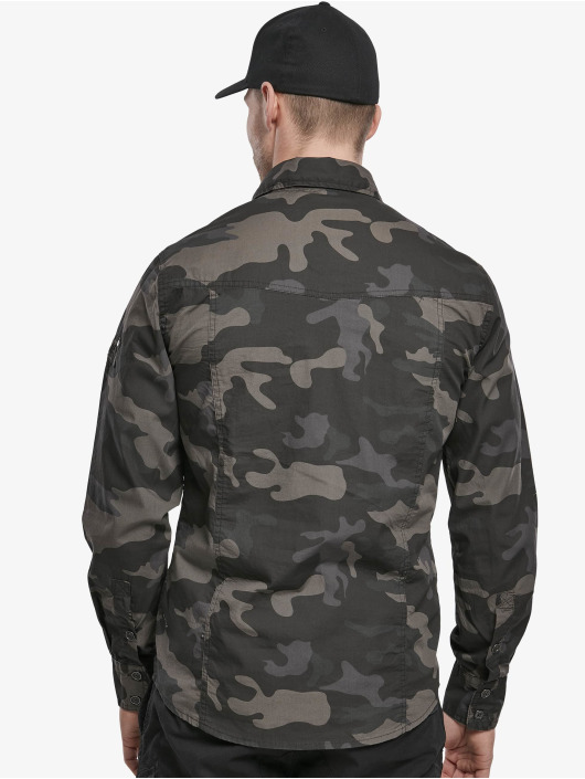 Brandit Hemd Slim camouflage