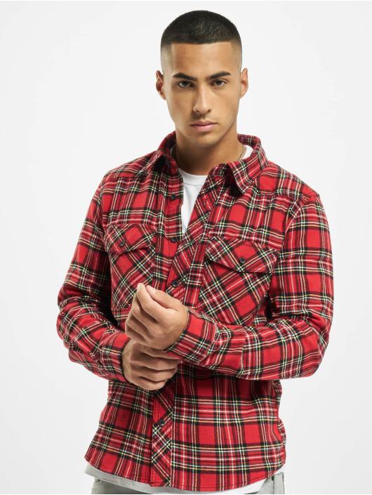 Brandit Hemd Check rot