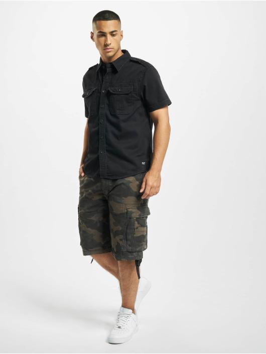 Brandit Hemd Vintage schwarz