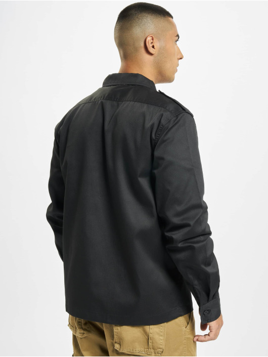 Brandit Hemd US schwarz
